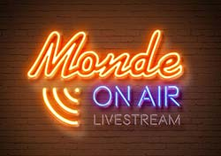 Monde On Air livestriimin logo
